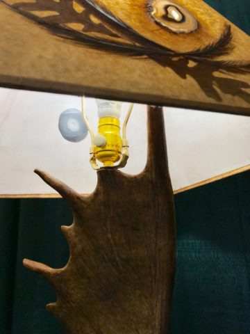 Table Lamp moose Dimmer