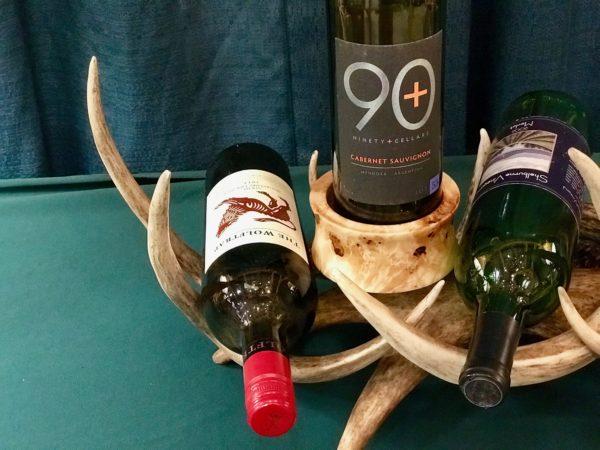 Wine rack antler blend 4-bottles2